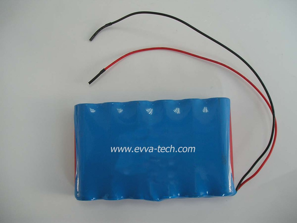 6200mAh 11.1V 3S2P Battery Pack with 18650 Lithium ion Battery Cells(China (Mainland))