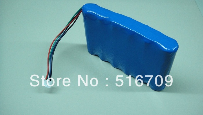 6700mAh 11.1V Battery Pack with 18650 Lithium ion Battery Cells 3S2P(China (Mainland))