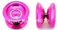 Free shipping Magic yoyo T8 (Magic Shadow), professional yoyo,newest T8 High quality aviation aluminum alloy Metal YoYo ball