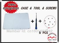"White Bottom Case & Tool & 8 PCS Screws 13"" Laptop For Macbook A1342 MC207 MC516 Brand Cover!!!"