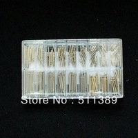 about 240Pcs Stainless Steel Watch Band Spring Bars & Strap Link Pins 6-23MM Top quality.Low price.