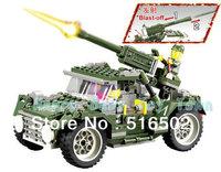 Enlighten Child military toys 84002 educational blocks military set KAZI building block sets,toys plastic blocks free Shipping