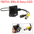 Indoor 700TVL Sony Effio-E CCD Mini CCTV Security Camera 3.6mm lens