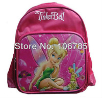 free shipping  25pcs/lot Tinker Bell Backpacks , Kids School Bags Backpack , Children Shoulder Bags SHJ422-7