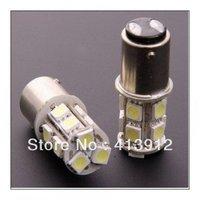 10pcs Car 1157 BAY15D Tail Brake 13 LED 5050 SMD DC 12v Turn Signal White Light Bulb Lamp