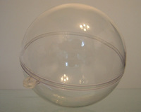 Free shipping, clear plastic balls or transparent christmas ball or plastic capsules, diameter 90mm , transparent type