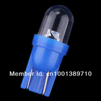 100x New T10 158 168 194 W5W 501 LED Side Car Auto Light lamp Wedge Bulb blue