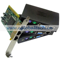 xtenda x300 1 PCI card, three small access terminals,1 pc sharing with up to 7 terminals computer station multi media pc station