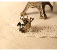 Min.order is $15 (mix order) 2012 fashion accessories vintage cutout skull ring