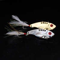 Free Shipping Fishing tackle vib paillette 7g 12g twiddlefish wool lure fishing lure