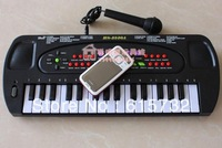 Free Shipping New Child Multifunctional Orgatron 32 Key Electronic Piano Toy Microphone KT-071Toys toy music electronic keyboard