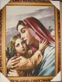 Free shipping  gobelin tapestries,The Madonna and The Son,decoration picture,multifunctional and high technical fabric pictures