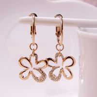 Viennois VIENNOIS accessories female rose gold gentlewomen anti-allergic earring earrings