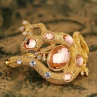 Love gold plated bracelet female fashion royal vintage multi-layer bracelet jewelry accessories