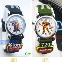 2pcs Transformers Optimus Prime and Bumblebee Children's watch gift C01/C11
