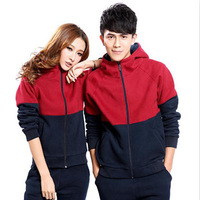Lovers set 2012 autumn and winter sports casual set plus size sweatshirt outerwear class service