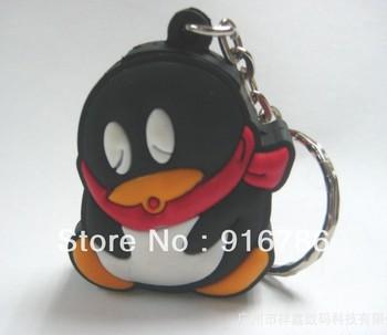Retail/Dropship QQ/Penguin Cartoon USB Flash Drive 8 GB