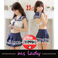 Free Shipping Lingerie Sexy Costume For Women Sex Underwear Student Outfit School girl HK Airmail