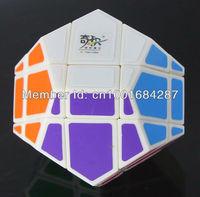 Brandnew QJ Skewb Megaminx Puzzle Magic Cube Pentagon Dodecahedron PVC Stickers Pyraminx Toy Game IQ Test Best Turing.free ship