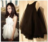 Y-PA-D-01 Multi-layer Gauze Fashion Princess Sleeveless One-piece Dress For Sale. Ladies Fashion Dresses
