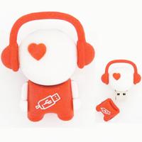 Freeshipping  16GB Red Boy USB2.0 Flash Memory Stick Pen Drive