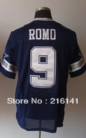 Free/Fast Shipping,Sewn On #9 Tony Romo Men's Team Navy Football Elite Jerseys,Size 40,44,48,52,56.Accept Drop Shipping.