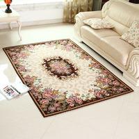 Silk quality jacquard fashion carpet water wash living room carpet coffee table bedroom carpet