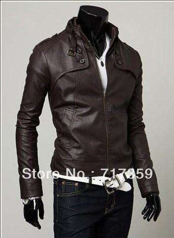 3шт/lot, новый мужской кожаный пиджак Корейский