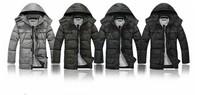 Korean version of casual men's short warm thicker down jacket  Q342
