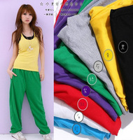 2012 lovers hip-hop pants hiphop jeans hiphop trousers loose yoga pants casual sports pants