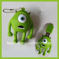 Green cartoon design New 4GB-32GB USB2.0 Flash Memory Stick Pen Drive High Qualtiy
