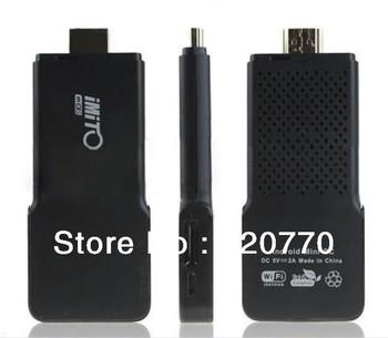 2Pcs/lot  Built-in Bluetooth  V3.3 IMito MX2 TV Box.IPTV Player Dual Core Cortex-A9 Mini PC 1G RAM 8G ROM 4 Colors(Option)