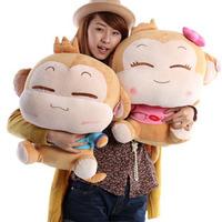 50cm cute monkey plush toy hiphop monkey doll christmas wedding gift  doll