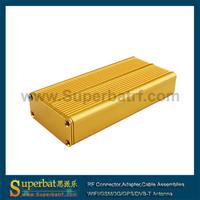 "Aluminum Project Box Enclosure Case Electronic DIY2426-4.33""*1.76""*0.72""(L*W*H)"