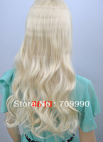 "cheap One Piece Synthetic Hair synthetic hair 100g/pc 20"" (50cm)Colors: #613 Bleach Blonde"