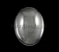Free Shipping!!!100PCs/Lot Fashion Clear Oval Flat back Glass Cabochons 30x40mm for Jewelry & Mobilephone Decoration Wholesale