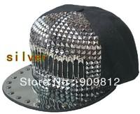 Free Shipping Paperclip paste box flat brimmed hat, Adjustable hip-hop cap, Bboy sports caps, Snapback hats, 2 color 20pcs/lot