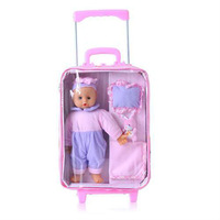 Pulley Laggage Toy Suitcase Toy Children Play House Toy