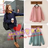 2013 Women loose casual single fleeces woollen sweater