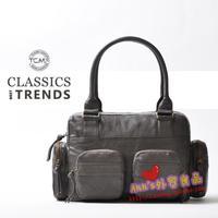 Free shipping Germany Brand Tcm metal ash multi-pocket formal women's handbag