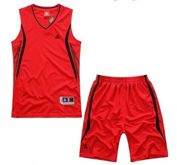 Free shipping Hot sales of new basketball clothes training suits basketball clothing set group purchase printing shop