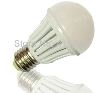 2013 hot wholesale ! big promotion 110V 7W led bulb E27 base warm white 630~700lm, FEDEX/DHLfree shipping 100pcs/CTN