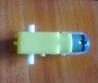 Freeshipping 10pcs Deceleration DC motor with 10pcs wheel total 20pcs