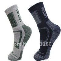 Hot sale good quality outdoor sport coolmax sock 6 pairs /lot free shipping style no LOR203