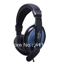 Free shipping electric sound DT-2102 headsets, computer headset headphones recorder Studio