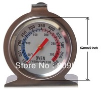 Free shipping,Stainless steel Household Bimetal Oven Thermometer,50~300C