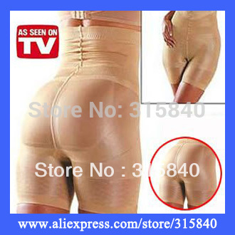 1pc New 2014 Slimming Pants Women Body Corset Slim Lift lady's Control Panty Body Shaper -- MTV67 PA05 Wholesale & Retail