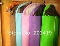 Minimum Order is $10  foldable Nonwovens multi color storage bag box case organizer suit clothes overcoat jack wind coat size S