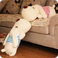 Dog lovers doll Large plush toy big head dog pillow cushion birthday gift