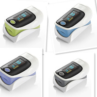 Hot sale Fingertip Pulse Oximeter, OLED screen 4 colors for choice